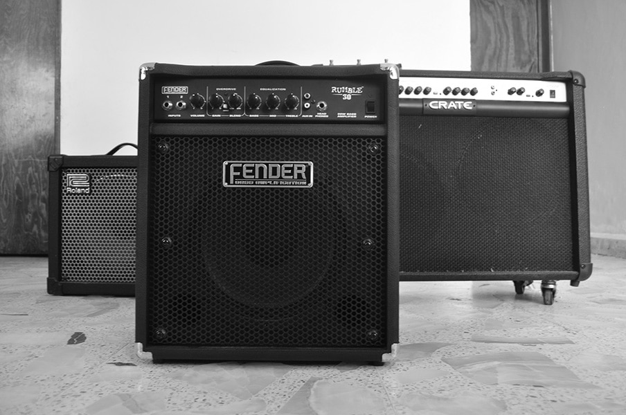 Amplifiers for bands