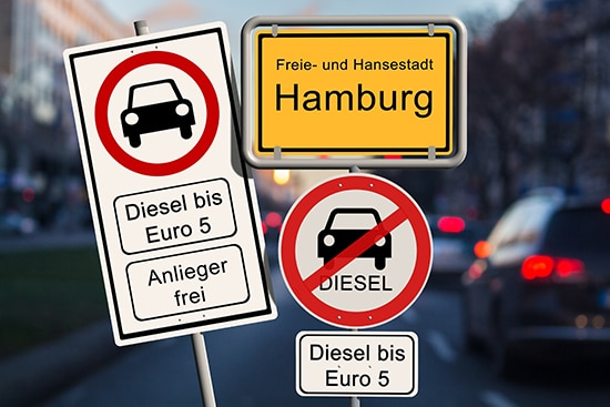 Diesel Fahrverbot Hamburg