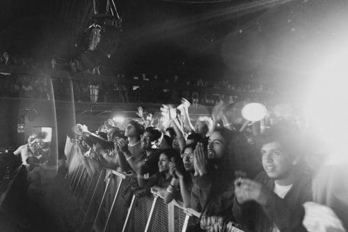 Live show audience